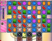 Candy Crush Saga Level 206 game