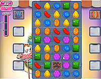 Candy Crush Saga Level 207 game