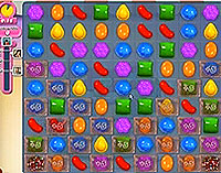 Candy Crush Saga Level 211 game