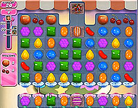 Candy Crush Saga Level 214 game