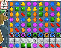 Candy Crush Saga Level 25 game
