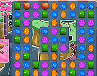 Candy Crush Saga Level 34 game