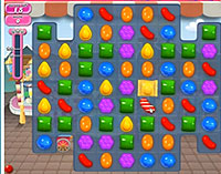 Candy Crush Saga Level 4 game