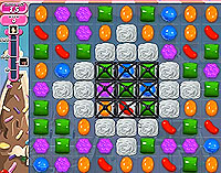 Candy Crush Saga Level 46 game