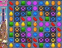 Candy Crush Saga Level 47 game