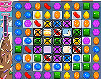 Candy Crush Saga Level 50 game