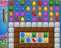 Candy Crush Saga Level 51 game