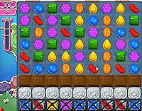 Candy Crush Saga Level 52 game