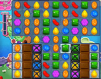 Candy Crush Saga Level 53 game