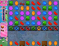 Candy Crush Saga Level 54 game