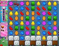 Candy Crush Saga Level 57 game
