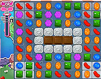 Candy Crush Saga Level 58 game