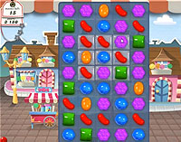 Candy Crush Saga Level 6 game