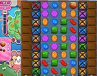 Candy Crush Saga Level 62 game