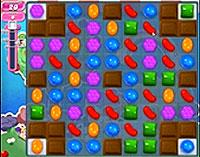 Candy Crush Saga Level 63 game