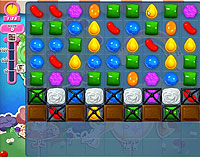 Candy Crush Saga Level 64 game