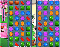 Candy Crush Saga Level 66 game
