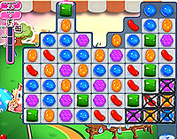 Candy Crush Saga Level 68 game
