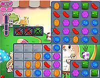 Candy Crush Saga Level 71 game