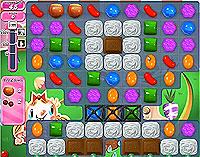 Candy Crush Saga Level 72 game