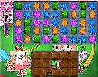 Candy Crush Saga Level 73 game