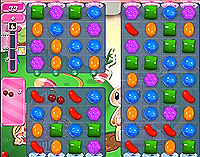 Candy Crush Saga Level 76 game