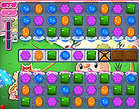 Candy Crush Saga Level 77 game