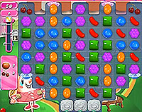 Candy Crush Saga Level 78 game