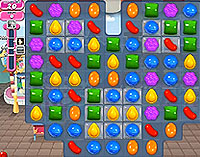 Candy Crush Saga Level 8 game