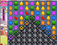 Candy Crush Saga Level 86 game