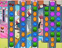 Candy Crush Saga Level 90 game