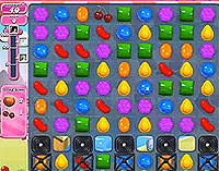 Candy Crush Saga Level 92 game